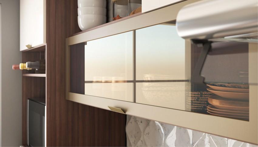 Vidro Reflecta: traz requinte proporcionando um ambiente moderno e elegante.