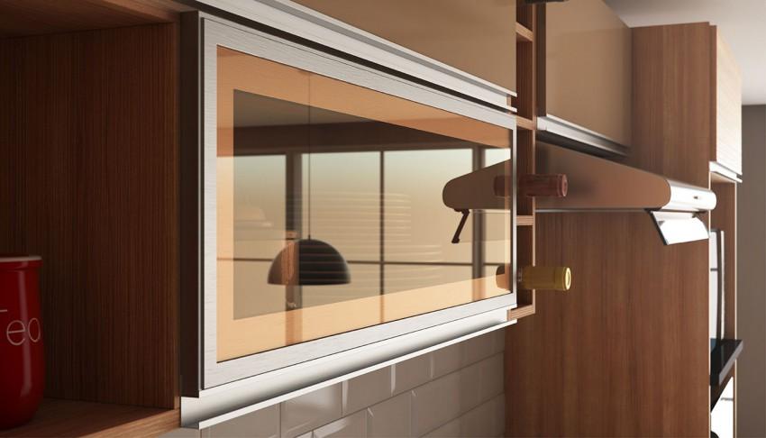 Com design diferenciado traz requinte proporcionando um ambiente moderno e elegante